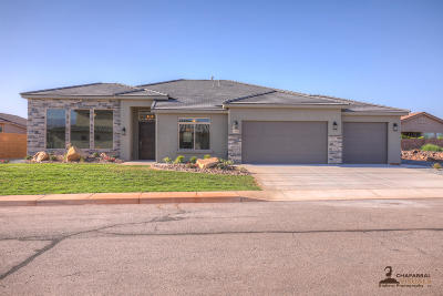 St George Single Family Home For Sale: 2333 W Courtyard Dr