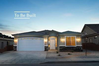 Hurricane Single Family Home For Sale: 3448 W 175 N #Lot 55