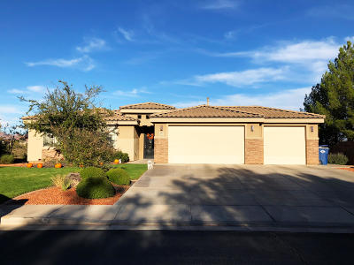 St George Single Family Home For Sale: 111 S Acantilado Dr