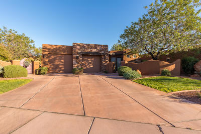 St George UT Single Family Home For Sale: $625,000