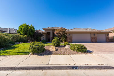 St George Single Family Home For Sale: 1940 S 2780 E