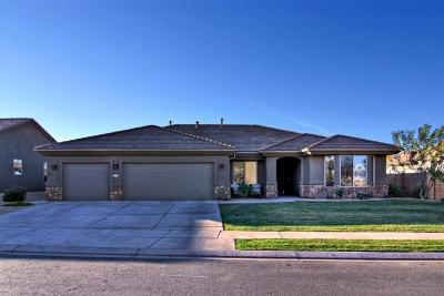 St George Single Family Home For Sale: 1927 W Sunstar Dr