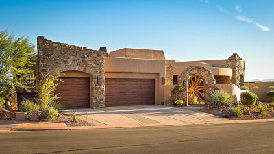St George Single Family Home For Sale: 3052 N Snow Canyon Parkway #50