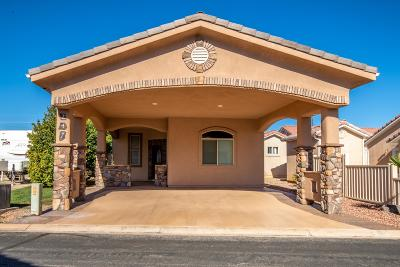 St George UT Single Family Home For Sale: $208,000