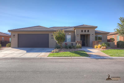 Ivins Single Family Home For Sale: 358 S Chuckwalla Ln