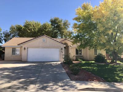 St George UT Single Family Home For Sale: $256,200
