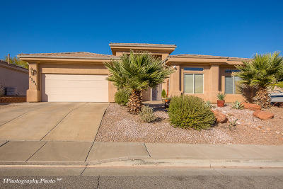 St George UT Single Family Home For Sale: $298,750