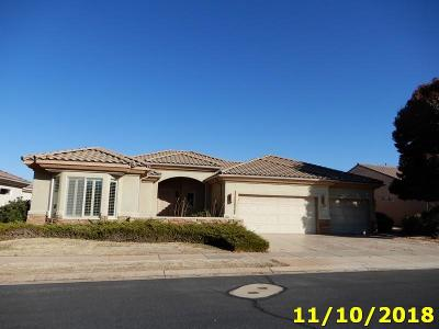 St George UT Single Family Home For Sale: $498,500