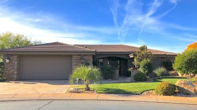 St George UT Single Family Home For Sale: $599,000