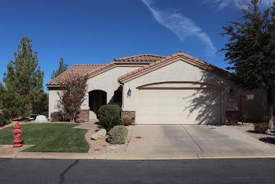 St George Single Family Home For Sale: 1306 W Cantamar Dr