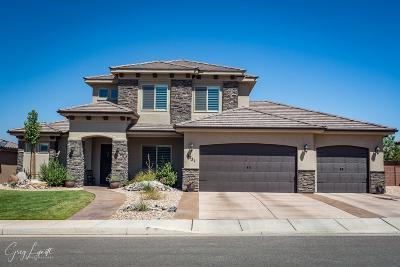 St George Single Family Home For Sale: 2751 E Auburn Dr