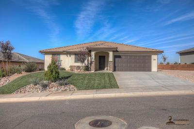 St George Single Family Home For Sale: 5962 Desert Crest Dr