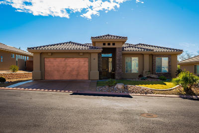 St George UT Single Family Home For Sale: $357,000