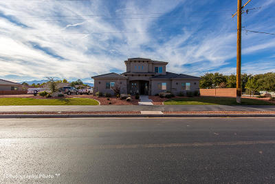 Ivins Single Family Home For Sale: 618 Red Mountain Blvd