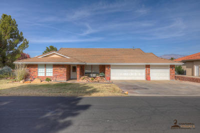 St George UT Single Family Home For Sale: $314,973