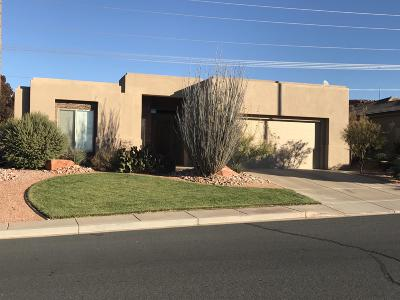 St George UT Single Family Home For Sale: $309,000