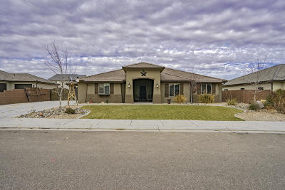 St George Single Family Home For Sale: 3529 Broken Mesa Dr