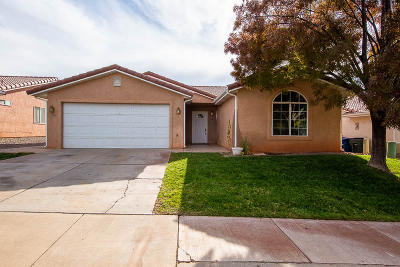 Washington Single Family Home For Sale: 170 E Arrowweed Way
