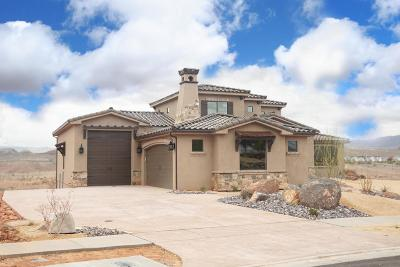 St George UT Single Family Home For Sale: $829,000