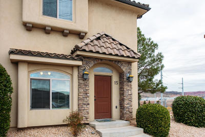 St George UT Condo/Townhouse For Sale: $210,000