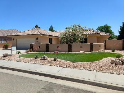 St George Single Family Home For Sale: 1051 S 620 E