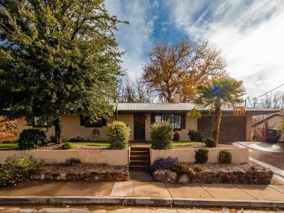 Washington Single Family Home For Sale: 450 N 100 E
