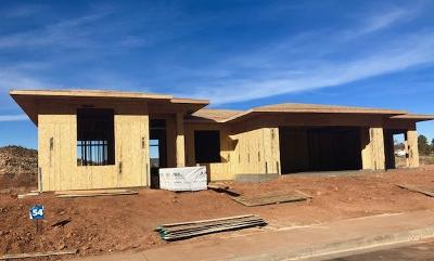 St George Single Family Home For Sale: Talus Way #Lot 54