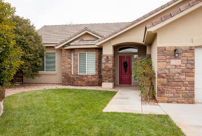 St George Single Family Home For Sale: 1933 S Observation Cir