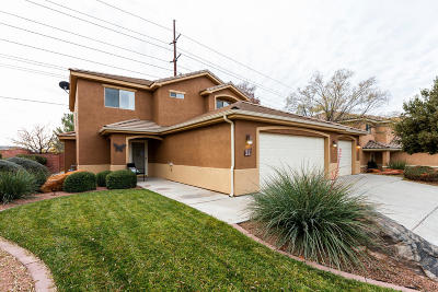 St George Single Family Home For Sale: 1173 W Snow Canyon #11