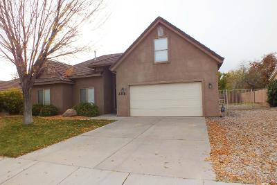 St George Single Family Home For Sale: 2318 E 440 N Cir