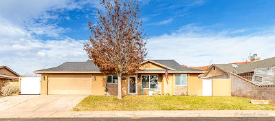 St George Single Family Home For Sale: 1586 W 1510 N