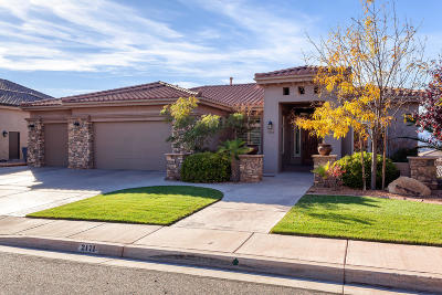 St George Single Family Home For Sale: 2171 N Lone Rock Dr