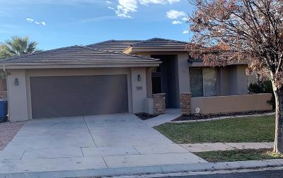 St George Single Family Home For Sale: 3534 S Ducati Way