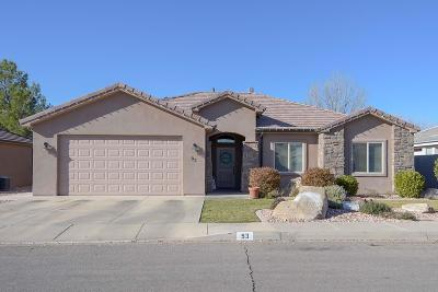 St George Single Family Home For Sale: 93 N 2890 E