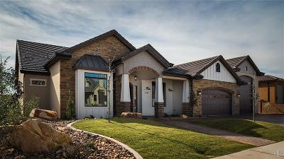 Hurricane  Single Family Home For Sale: 4163 W 2780 Cir S