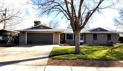 Ivins Single Family Home For Sale: 525 S 250 E