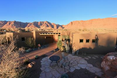 Ivins Single Family Home For Sale: 1120 Coyote Gulch Cir