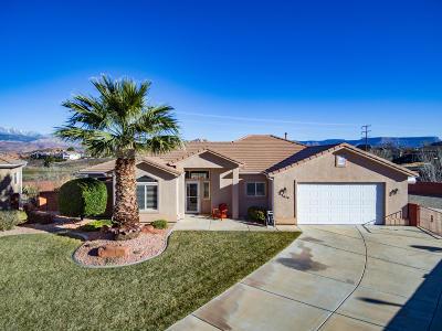 Hurricane Single Family Home For Sale: 2614 W 570 N