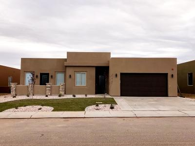 Hurricane  Single Family Home For Sale: 3225 S 4900 W #LOT 211