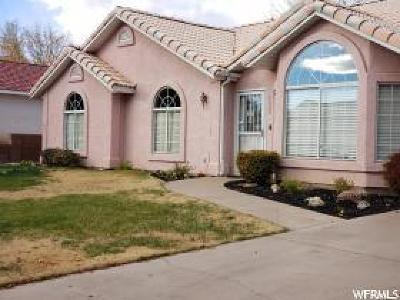 St George Single Family Home For Sale: 2403 E 350 N