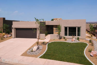 Hurricane Single Family Home For Sale: 3267 S Red Sands Way #Lot 130