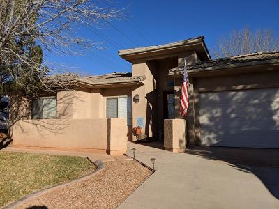 St George Single Family Home For Sale: 1380 N 1650 W
