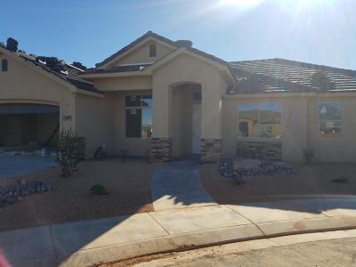 Hurricane Single Family Home For Sale: 3677 W 2580 Cir S