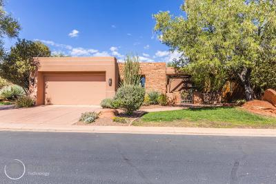 St George Single Family Home For Sale: 2410 W Entrada Trail #43