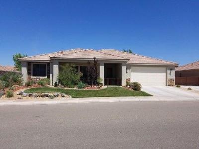 Hurricane Single Family Home For Sale: 395 N 2680 W