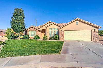 Hurricane Single Family Home For Sale: 1154 W 160 N