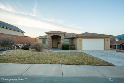 Hurricane Single Family Home For Sale: 387 N 3340 W