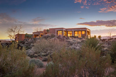 St George Single Family Home For Sale: 2185 N Chaco Trail