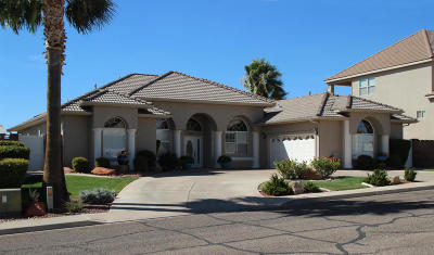 St George UT Single Family Home For Sale: $449,900