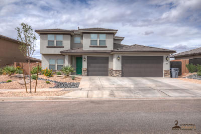 Washington Single Family Home For Sale: 411 N Sage Crest Dr